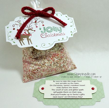 Magic reindeer food recipe and poem megs fundraisers pinterest magic reindeer food recipe and poem forumfinder