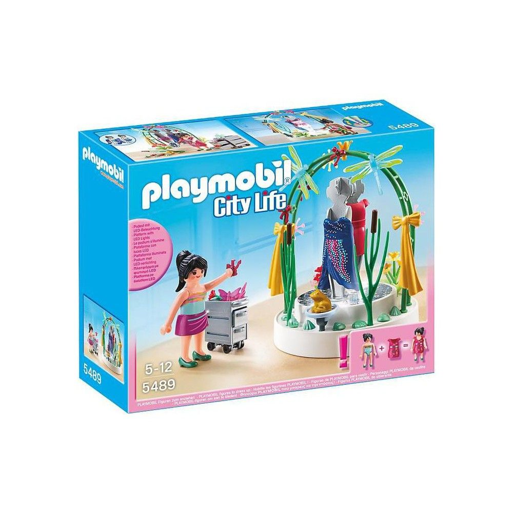 Playmobil City Life Clothing Display Set 5489 In 2020 Clothing Displays City Life Playmobil