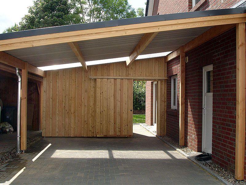 Galerie Carport Einer Doppelhaushalfte Zimmerei Zeller Gmbh In 2020 Carport Terrasse Carport Carport Modern