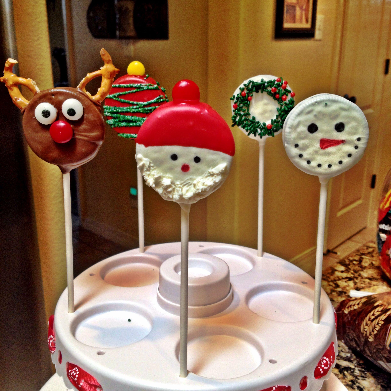 Christmas Oreo Pops