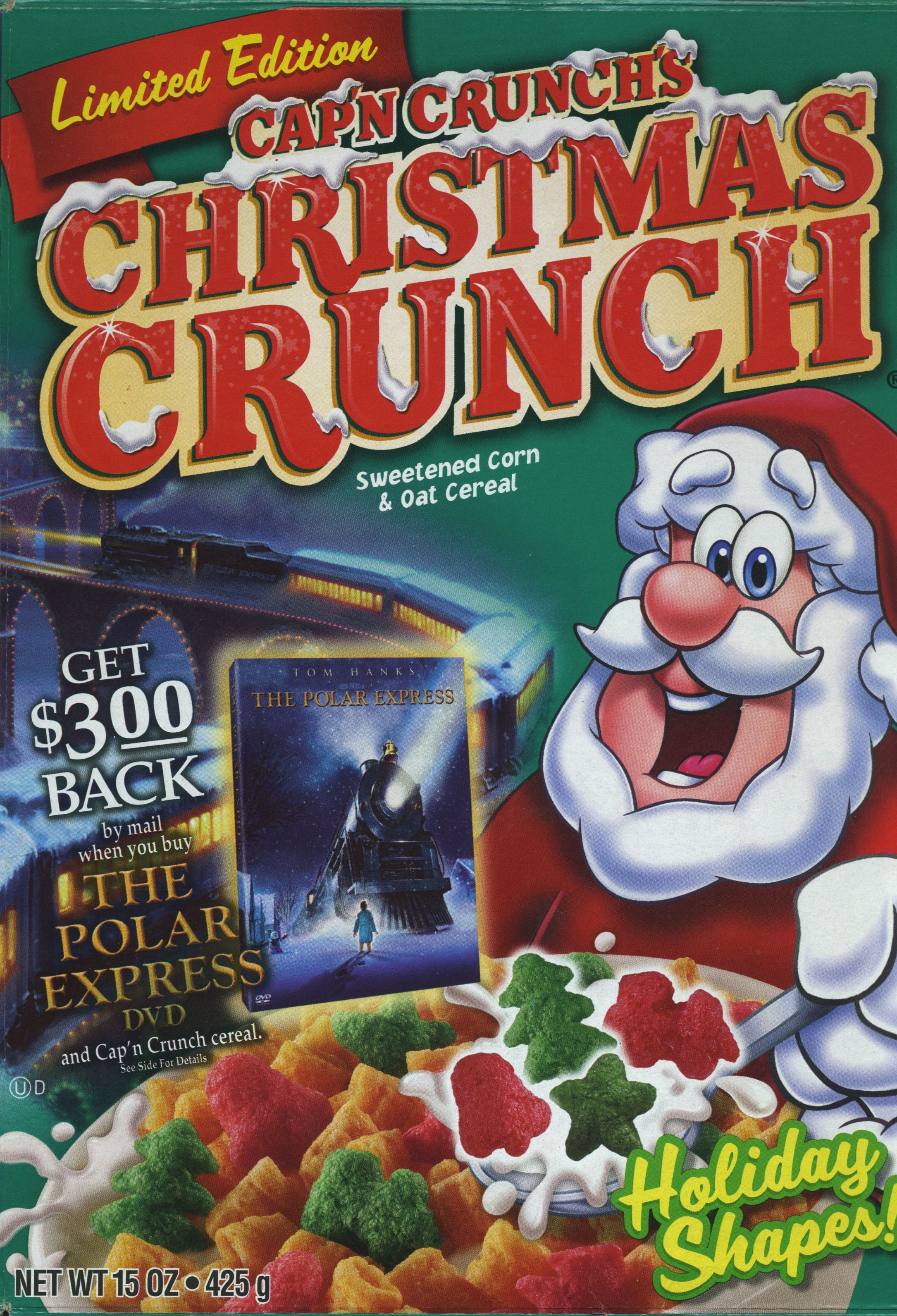 Christmas Crunch Cereal.Christmas Crunch 2005 Cereal Christmas Crunch Cereal