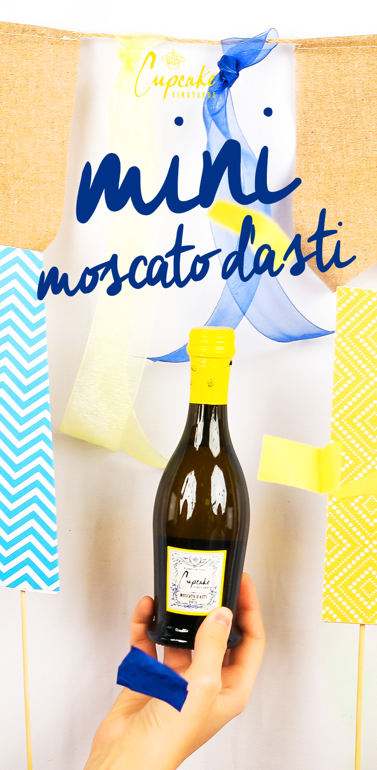 Introducing a new way to TREATTODAY Cupcake Vineyards MINI Moscato