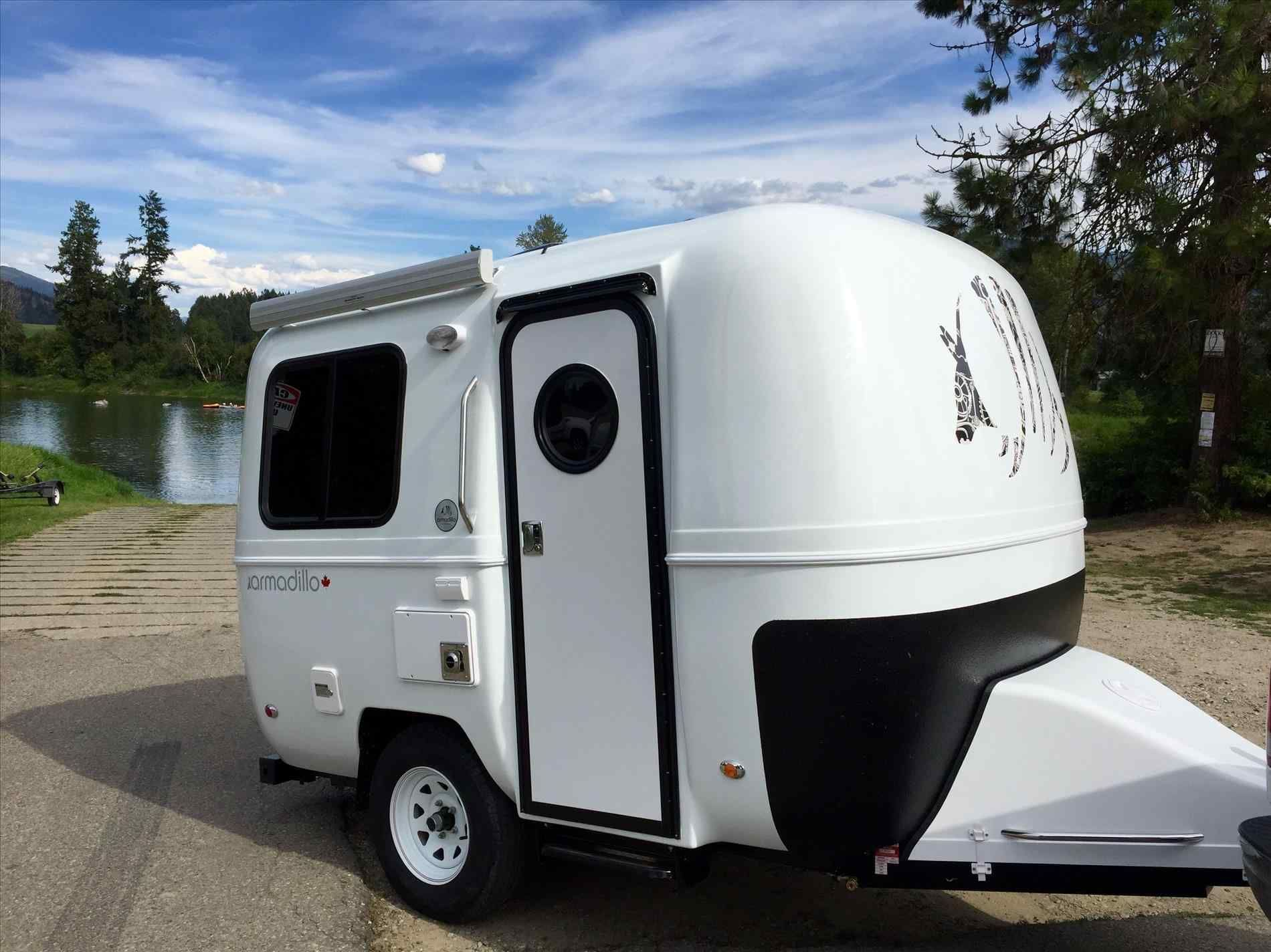 Best 11 Small Lightweight Travel Trailers For Simple And Cozy Camping Breakpr Lightweight Travel Trailers Small Lightweight Travel Trailers Tiny Trailers