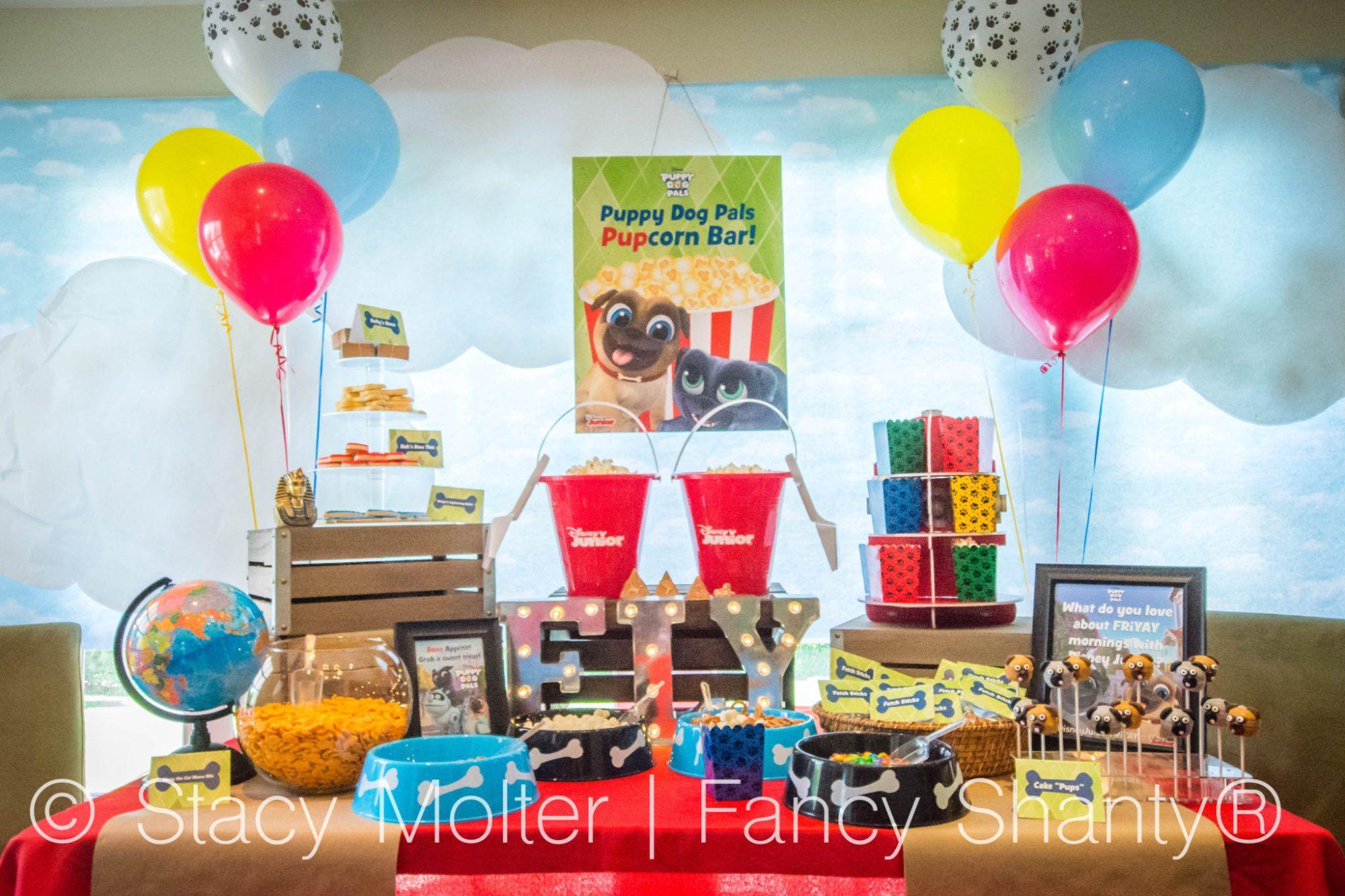 Disney Junior S Puppy Dog Pals Party Ideas Puppy Birthday