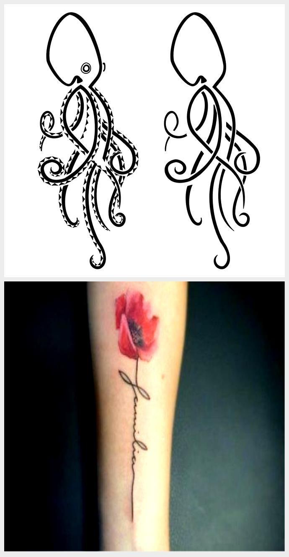 Photo of Octopus Tattoo – hm, ich kann nicht sagen, dass ich den Octopus als Tier mag, aber das Sy …