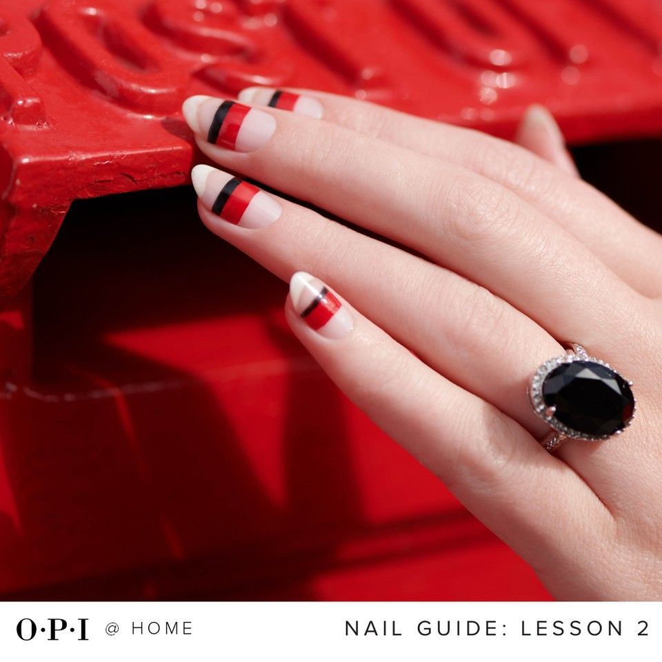 Opi S Stay At Home Guide 2 How To Shorten Your Gel Nails And Rock Your Grown Out Mani In 2020 Gel Nails Gel Nails