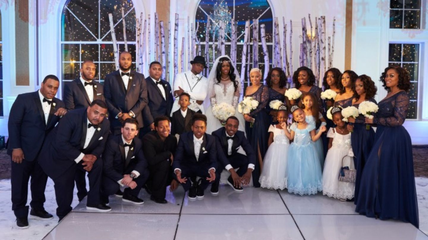Bridesmaid dresses in ma vosoi it was truly a winter wonderland at the wedding of remy ma and ombrellifo Image collections