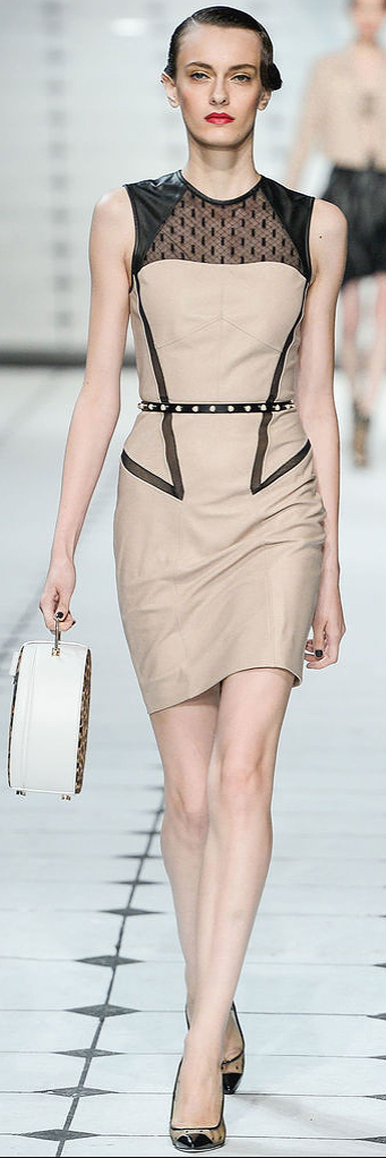 Jason Wu 2013 Ready-To-Wear - style.com - Leather and Lace