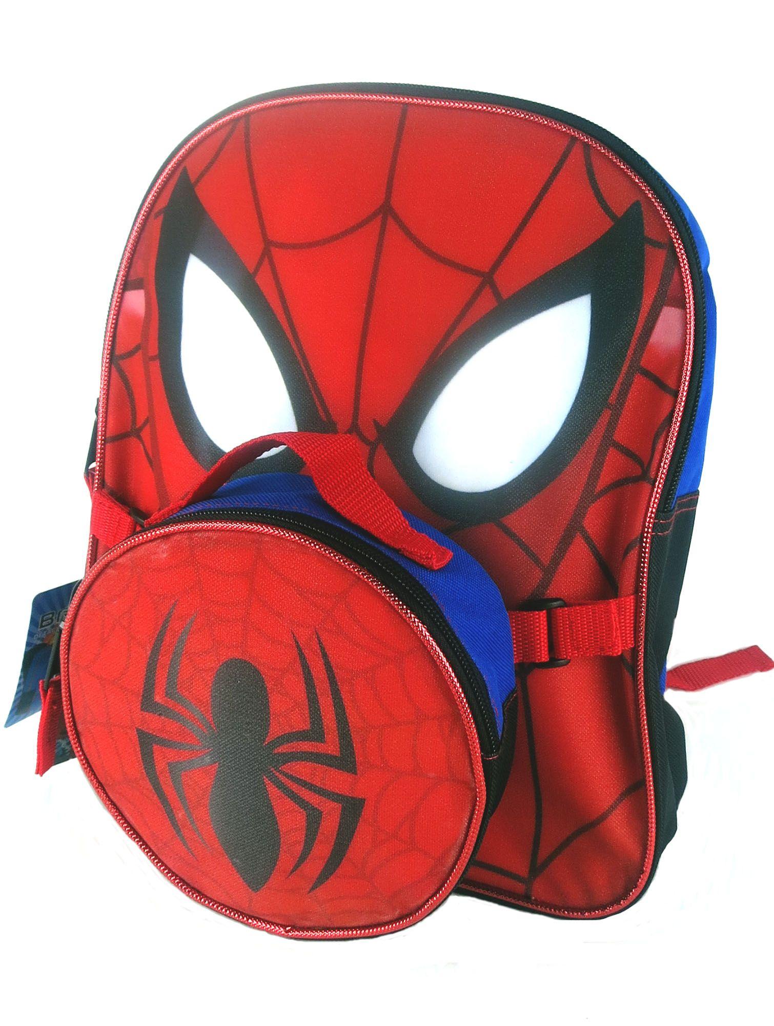 Marvel spiderman mini back pack cuarto de ian for Cuartos decorados hombre arana