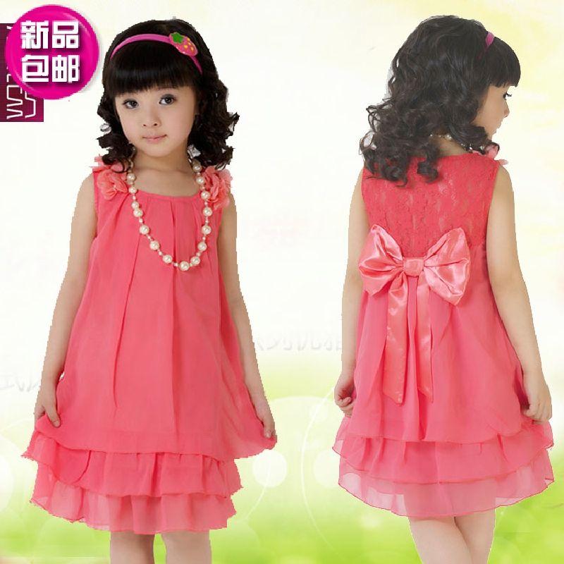 de35bb4eb vestidos para niñas de doce años Ropa para niños 4 5 6 7 8 9 10 | De ...