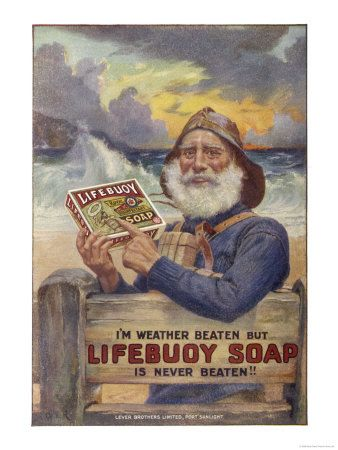 Vintage Ad - Lifebouy