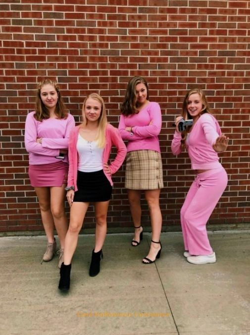 50+ Group Halloween Costumes That You Must Know #halloweencostumeswomen