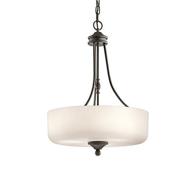 Shop kichler lighting 43653 lilah 3 light large pendant light at lowes canada find our selection of pendant lights at the lowest price guaranteed with