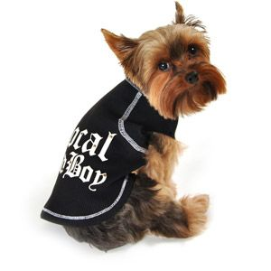 SimplyDog Local Bad Boy Raglan Shirt for Dogs, (Multiple Sizes Available)