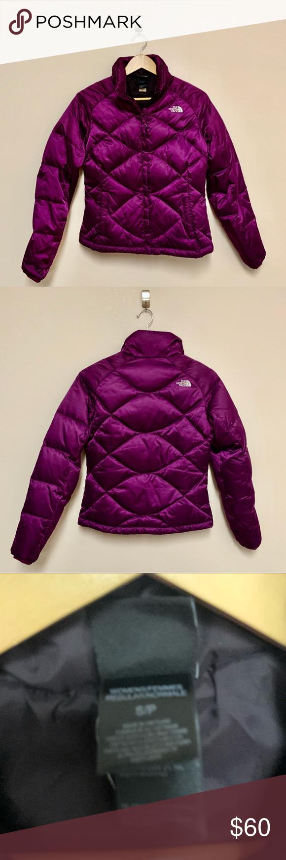 North Face Puffer Down 550 Purple Coat Purple Coat Clothes Design North Face Coat [ 1740 x 580 Pixel ]