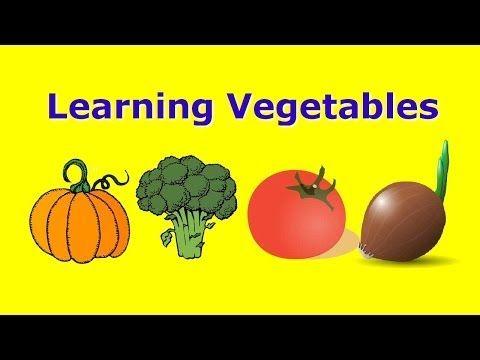 Kids Train Train For Kids Learning Vegetables Names Like A Rhyme