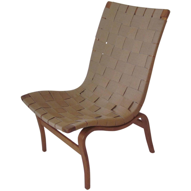 Bruno Mathsson Eva Swedish Lounge Chair
