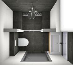 Idée décoration Salle de bain Een kleine badkamer inrichten? Bezoek ...