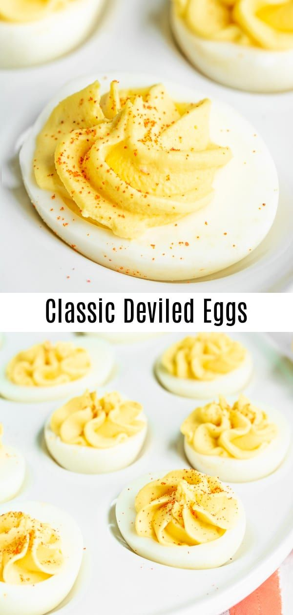 Classic Deviled Eggs Recipe | Home. Made. Interest.