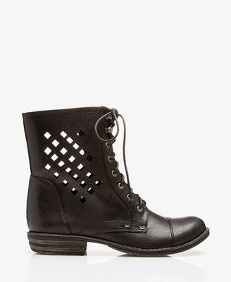 9df808690560 Cutout Combat Boots  Forever21  Bootup  CutOut  Combat