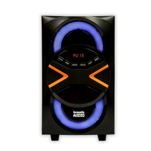 Wireless Surround Sound System Bluetooth Home Theater 5 1 Speakers W Led Lights Ebay Wireless Surround Sound Systems Surround Sound
