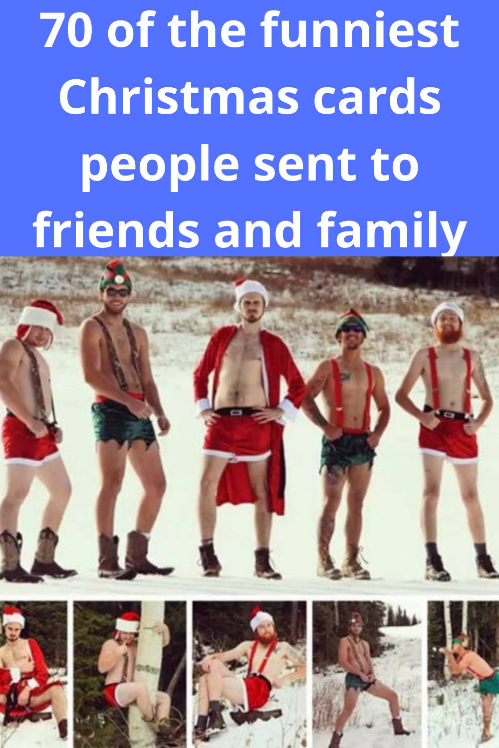 70 of the funniest Christmas cards people sent to