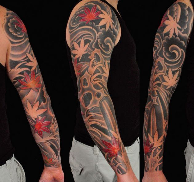 tatuajes brazo estilo japones Buscar con Google