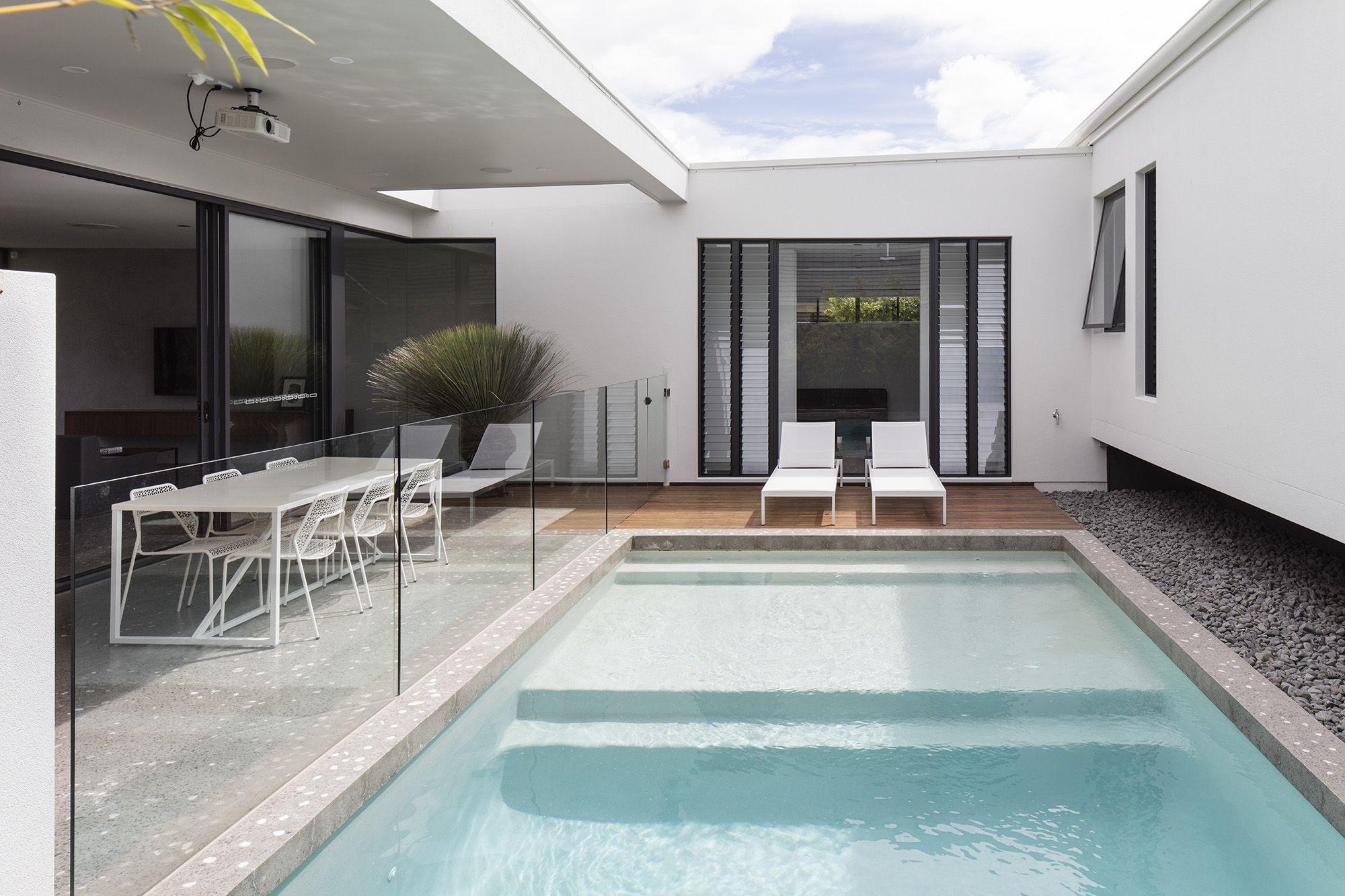 Custom swimming pool idea by immackulate designer homes the peregian springs project located on sunshine coast qld australia also rh pinterest