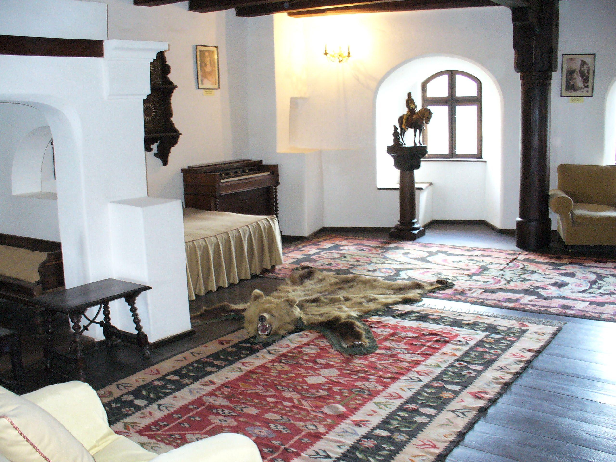 Bran Castle Interior.