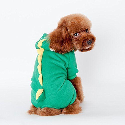 Pet Lesoa Dog Puppy Costumes Doggie Cat Jumpsuit Godzilla Apparel Dragon T Rex Dinosaur Raptor Plush Costumes Gree Dog Dinosaur Costume Dog Coats Dog Sweaters