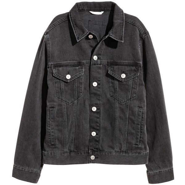 Denim Jacket 39 99 715 Mxn Liked On Polyvore Featuring Outerwear Jackets Denim Jacket Button Jacket Flap Jacket Coll Ropa Rockera Ropa Chaqueta Jeans