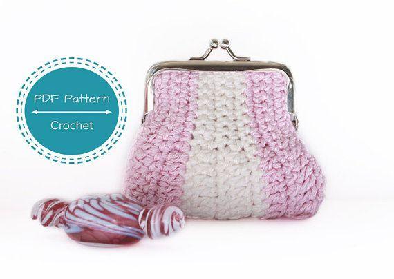 crochet purse patternsnap frame crochet coin purse pdf ...