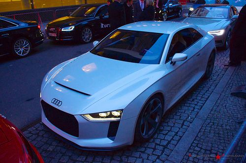 White Audi Quattro Concept - Official Partner at the 64. Berlinale in Berlin 2014 | Flickr - Photo Sharing!