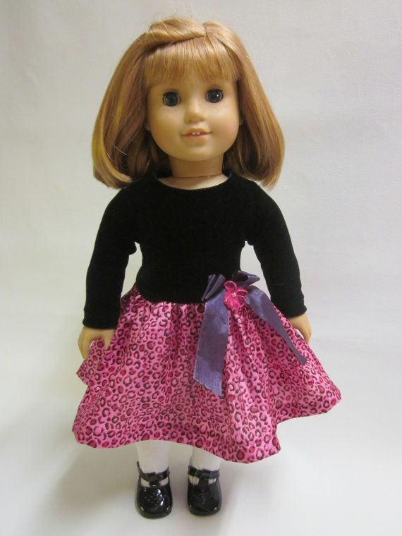18 inch American Girl Doll Clothes  Pretty Party by IndustriousDog, $11.00