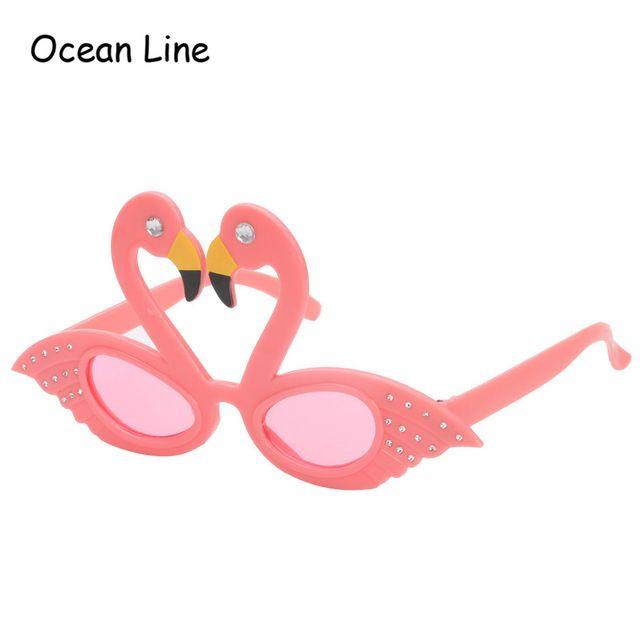 Funny Pink Flamingos Ornaments Costume Glasses Novelty Flamingo Birthday Favors Festive Party Supplies Decoration Accessories http://ali.pub/1txpnu