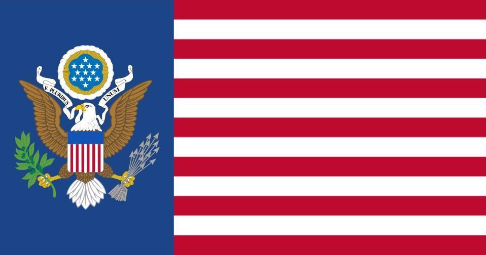 United States Alternate Flag By Alternatehistory Deviantart Com On Deviantart Flag Alternate History War Flag