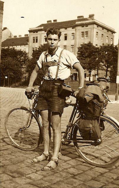 Vintage Lederhosen Leather Breeches Textiles German