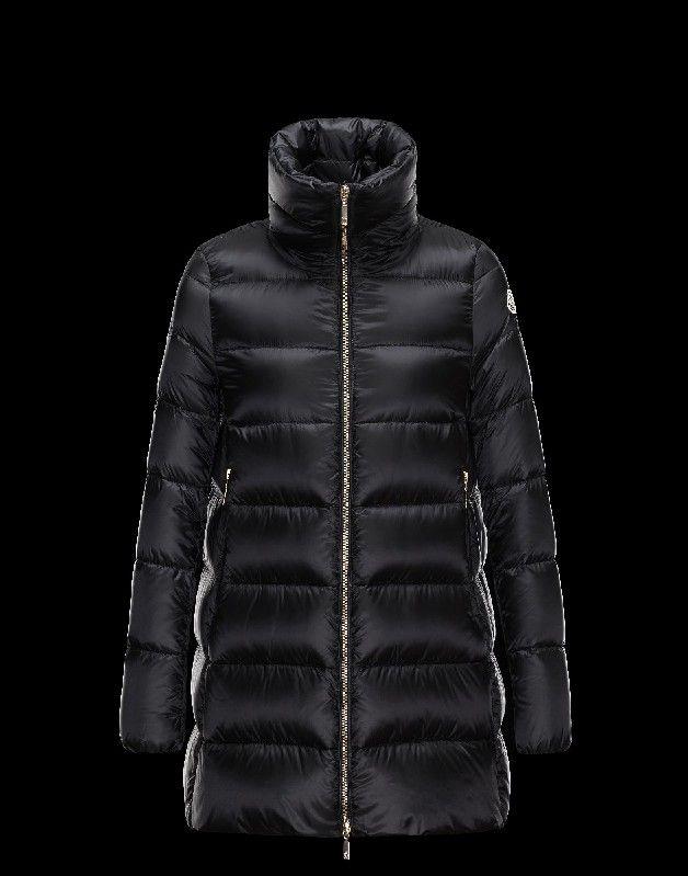 Moncler Damen Mäntel, jacke sale Moncler Damen TORCY Mantel Schwarz Polyamid Jacken