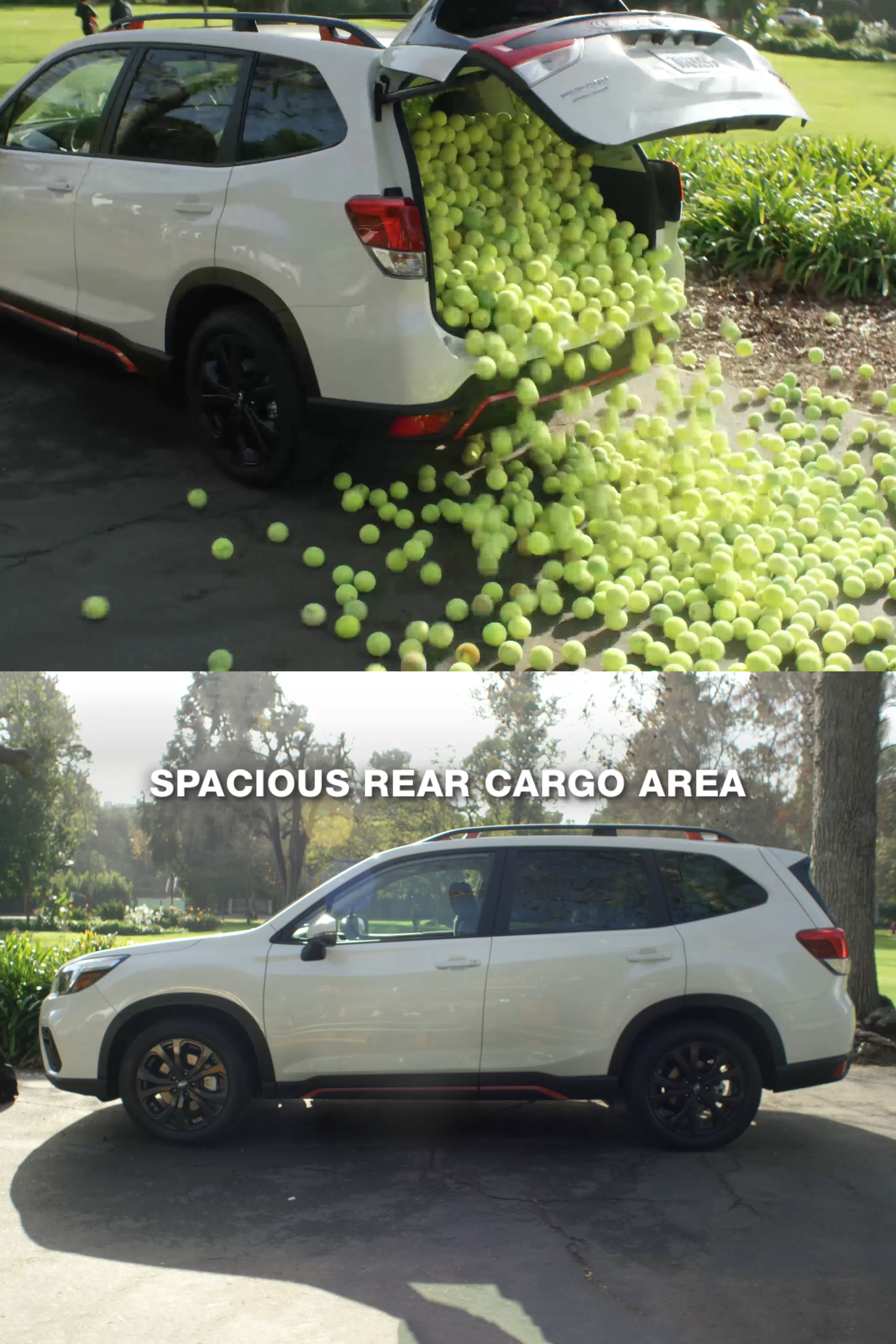 Subaru Forester Cargo Space >> The All New 2019 Subaru Forester With Up To 76 1 Cubic Feet Of