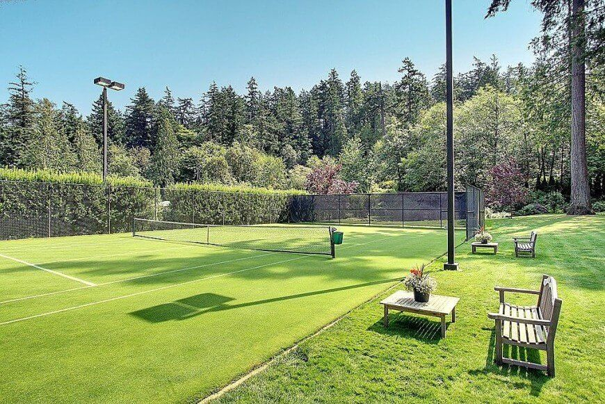 53 Luxurious Tennis Court Ideas Tennis Court Backyard Tennis Court Tennis Court Design