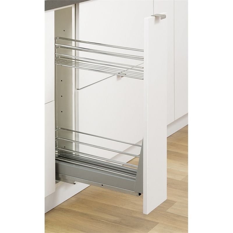 Kaboodle 150mm 2 Tier Soft Close Pullout Baskets Kaboodle Base Cabinets Kitchen On A Budget