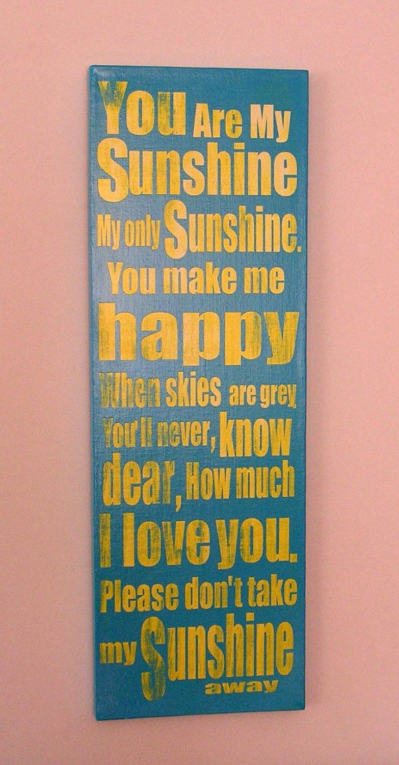 reNEW the Year SALE: You are My Sunshine, Fun, Expressive Word ...