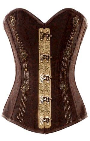 gorgeous corset  steampunk corset steampunk fashion