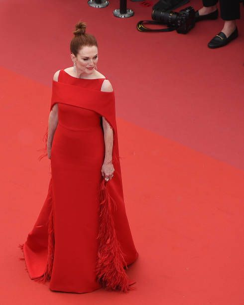 Julianne Moore attends the Opening Ceremony during the 71st annual Cannes  Film Festival at Palais des