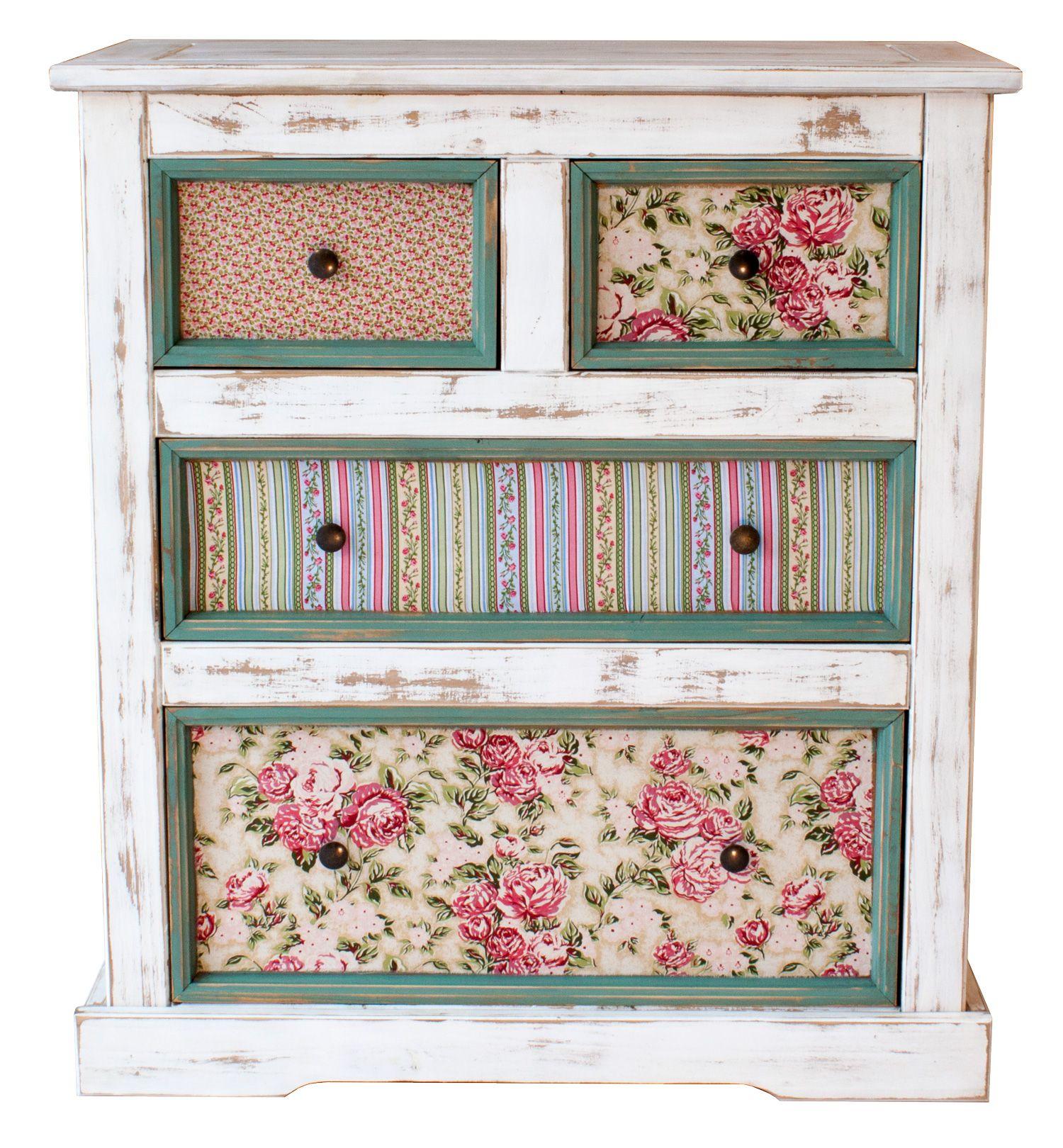 Muebles Pintados Vintage Good Cmo Pintar Un Mueble En Blanco  # Muebles Efecto Vintage