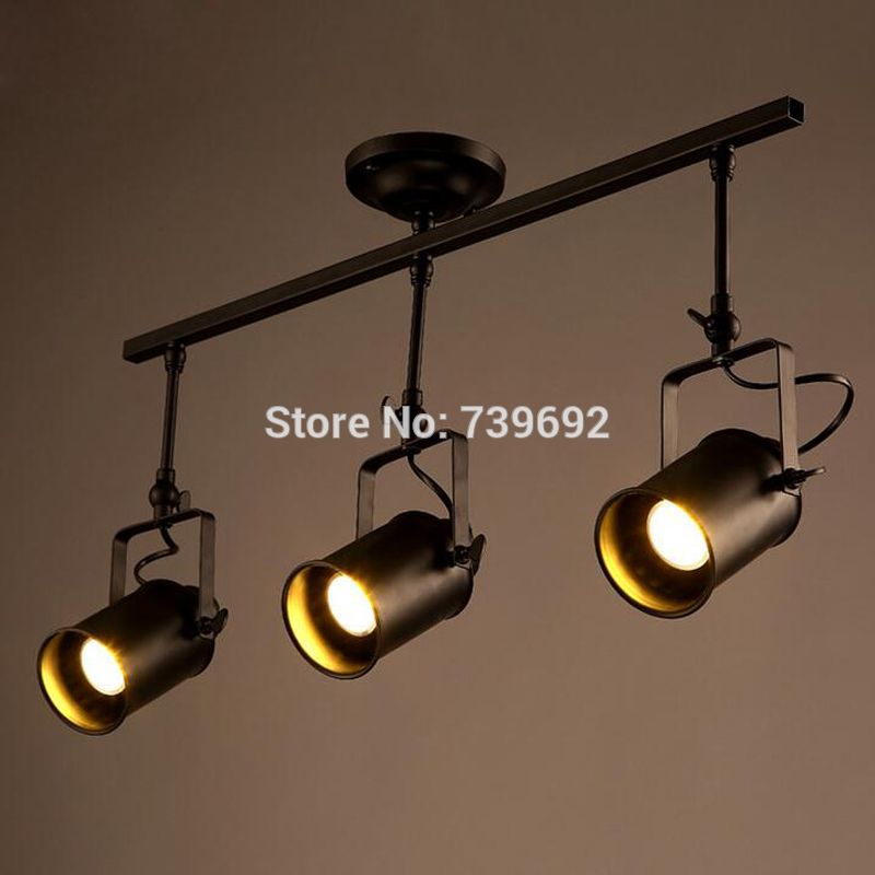 2016 new arrival american vintage industrial track lights modern 2016 new arrival american vintage industrial track lights modern brief creative 3 heads track led ceiling mozeypictures Image collections