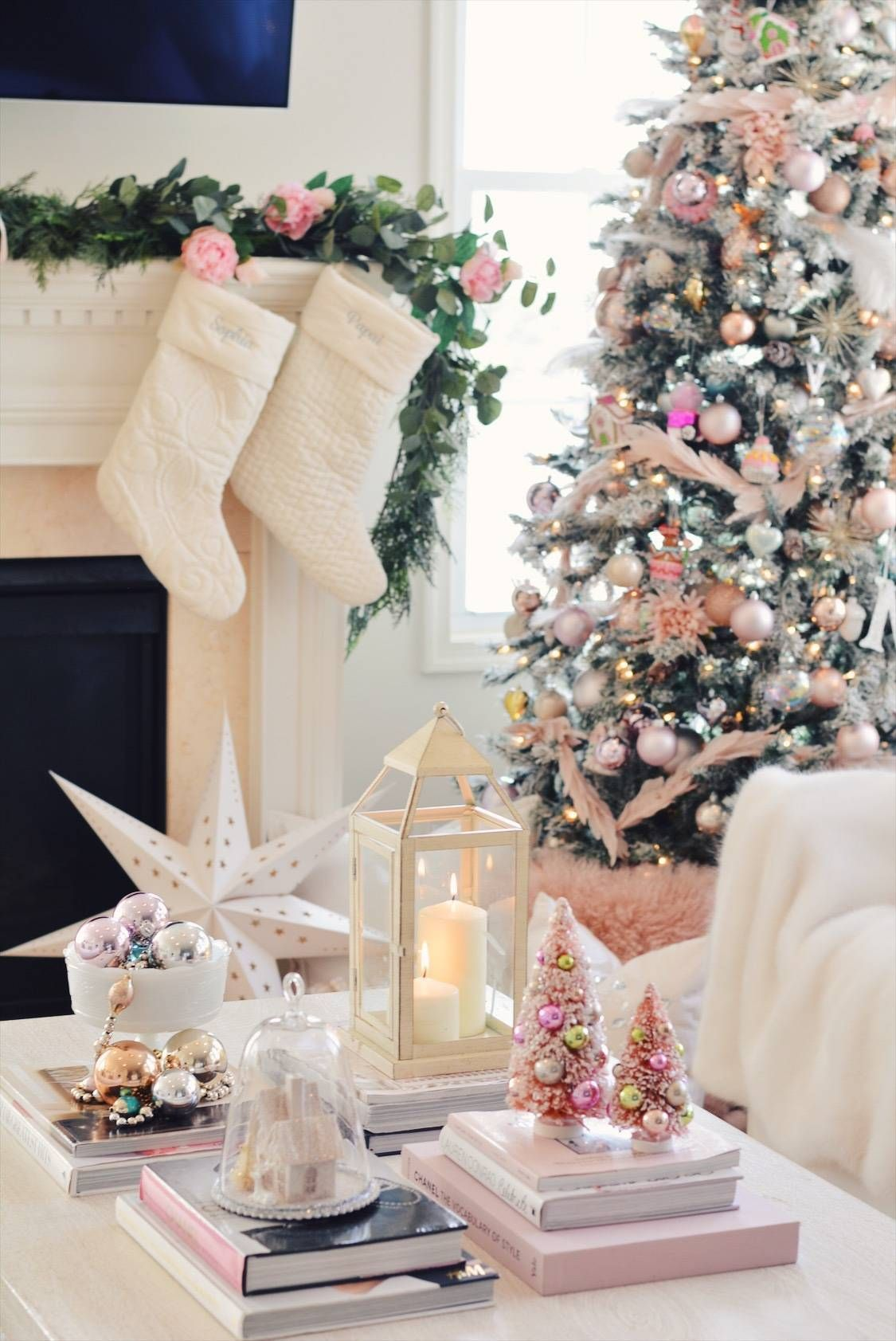 Elegant Christmas Pink Christmas Tree Decor Elegant Christmas Pink Christmas Pink Christmas Tree
