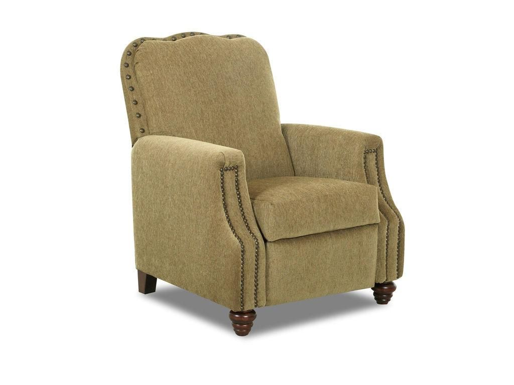 Klaussner Living Room Gabby High Leg Recliner