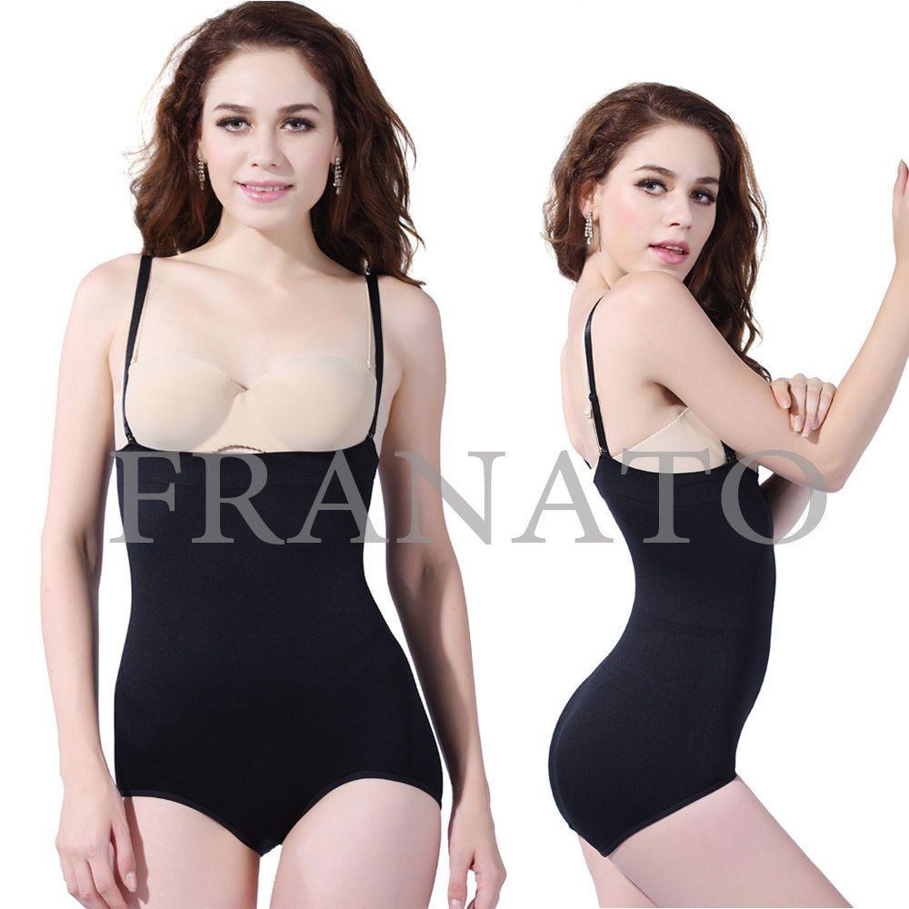 0a4d7c8dabb9b Ladies Black Seamless Body Briefer High Waist Slimming Body Shaper Underwear