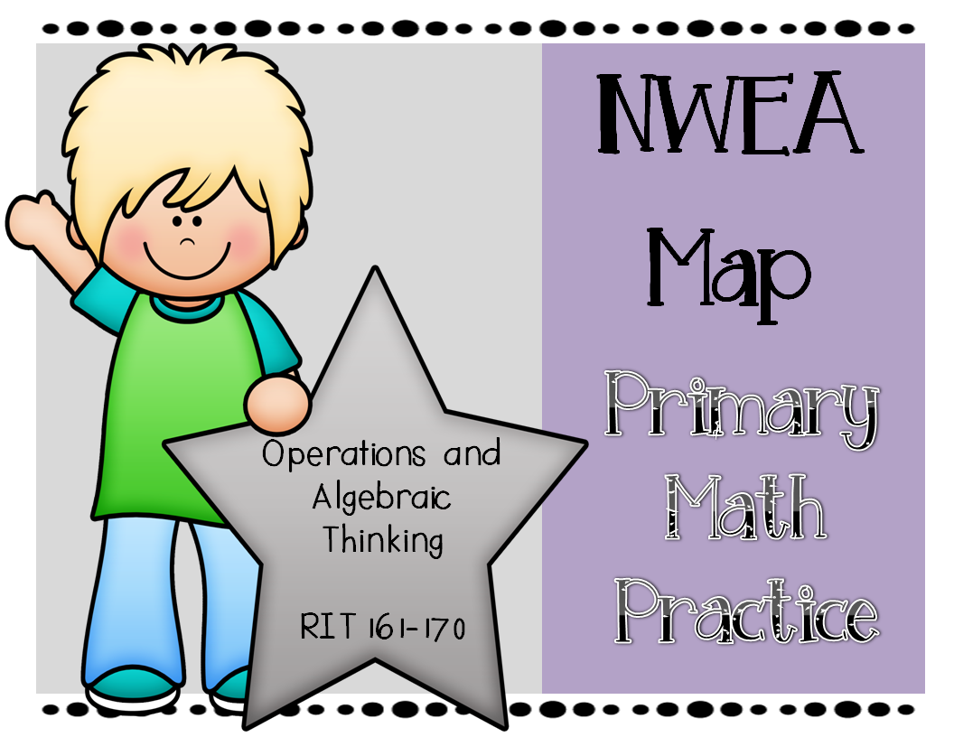 Nwea Map Primary Math Practice Operations Amp Algebraic